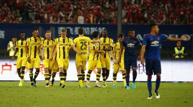Manchester United di Bantai Telak Oleh Borussia Dortmund