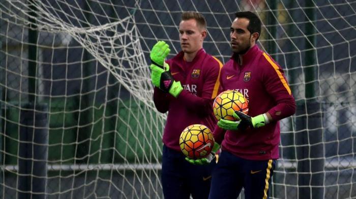 Persaingan Kiper Membuat Pelatih Barcelona Pusing