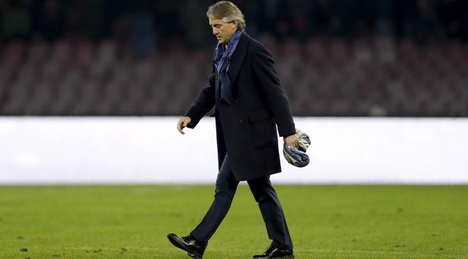 Jelang Seri A Italia Roberto Mancini di Pecat Inter Milan