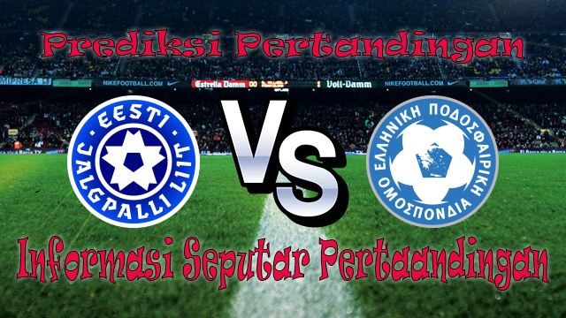 Perkiraan Estonia vs Greece